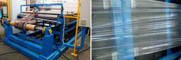 The ECOCLEAN: A wash machine cleaning rolls of printed films