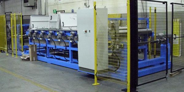 Treatment of the pre-printed plastics in rolls
