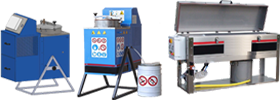 Small destillation units & Washmachines