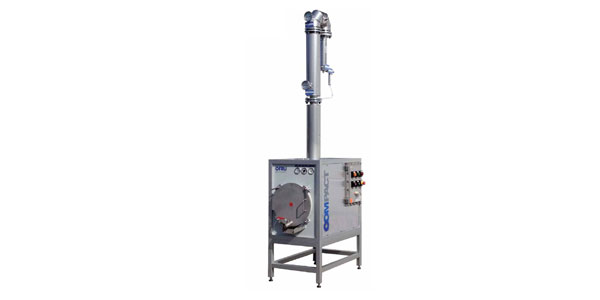 Recycling van de verontreinigde oplosmiddelen door distillatie
