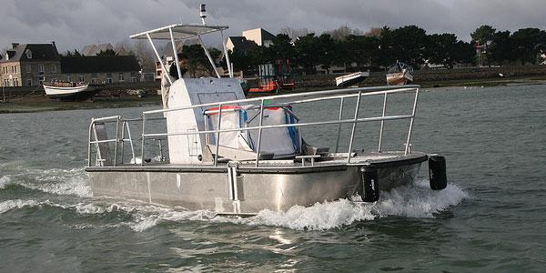 Der Reinigungsschiffe, die für die Reinigung der Oberfläche der Gewässer auf See bestimmt sind- Cataglop® serie