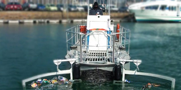 Der Reinigungsschiffe, die für die Reinigung der Oberfläche der Gewässer auf See bestimmt sind - Cataglop® serie