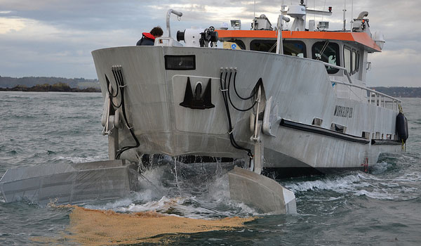 Boats cleaning water surfaces - WORKGLOP® range